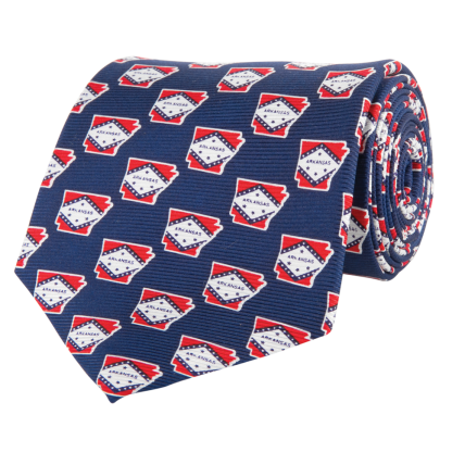 AR Traditional Navy Tie